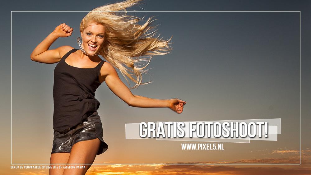 Gratis fotoshoot Actie!